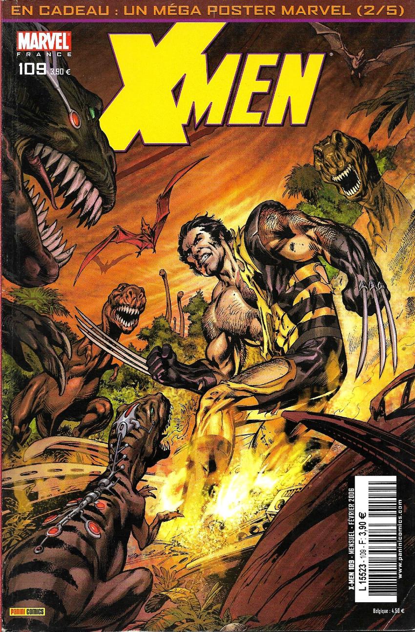 Couverture de X-Men (Marvel France 1re série) -109- La fin du monde (1)