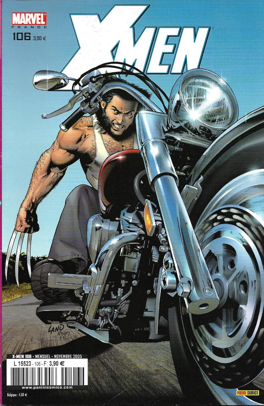 Couverture de X-Men (Marvel France 1re série) -106- Chasse damnée !