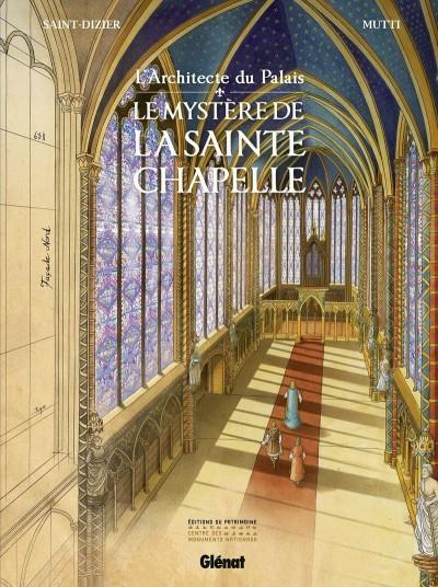 Couverture de L'architecte du palais -1- Le mystère de la sainte-chapelle