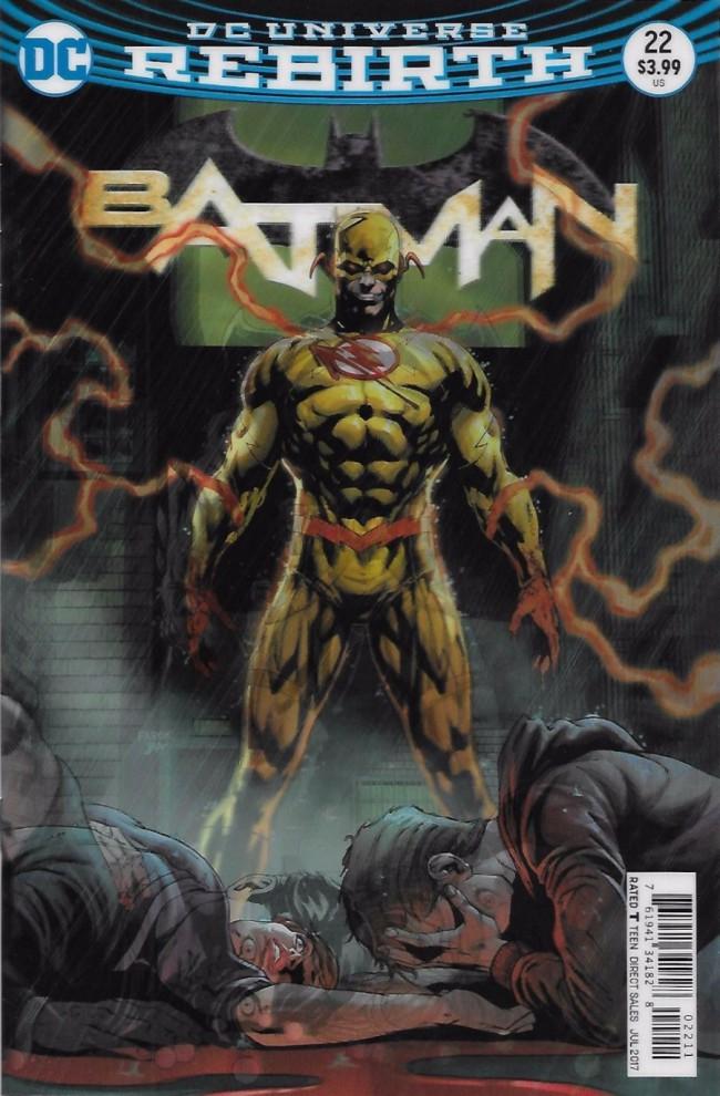 Couverture de Batman (2016) -22- The Button, Part Three