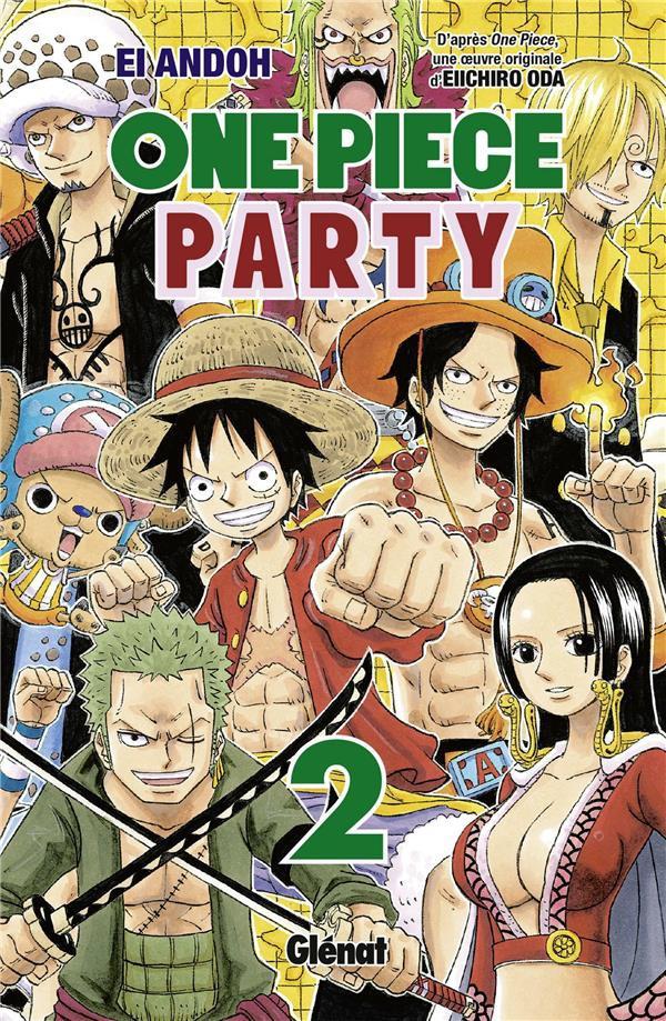 Couverture de One Piece Party -2- 1
