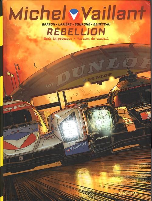 Couverture de Michel Vaillant - Nouvelle saison -6Fanbox- Rébellion