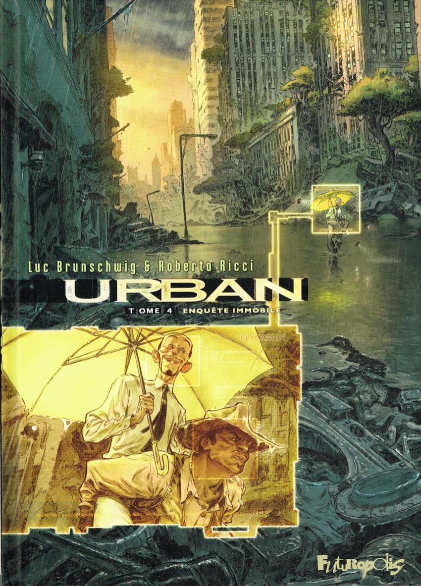 Couverture de Urban -4- Enquête immobile