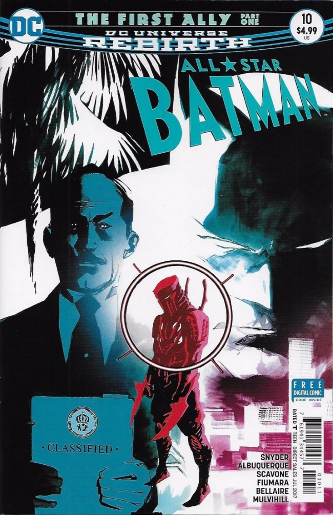 Couverture de All-Star Batman (2016) -10- The First Ally, Part One