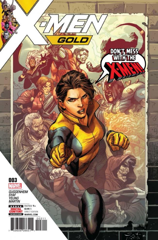 Couverture de X-Men Gold (2017) -3- Back to the Basics Part 3
