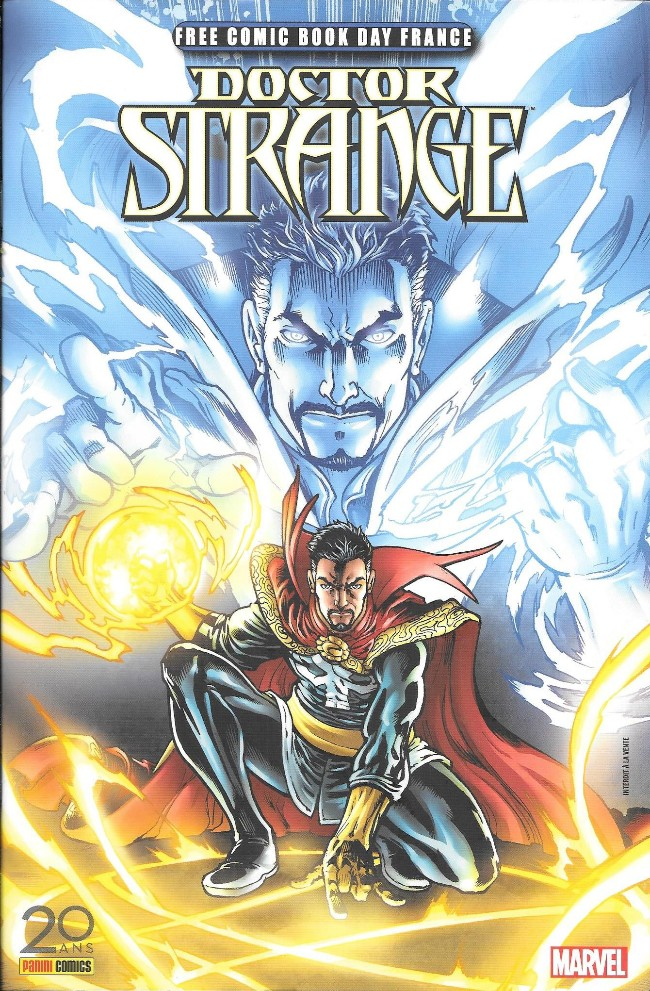 Couverture de Free Comic Book Day 2017 (France) - Doctor Strange