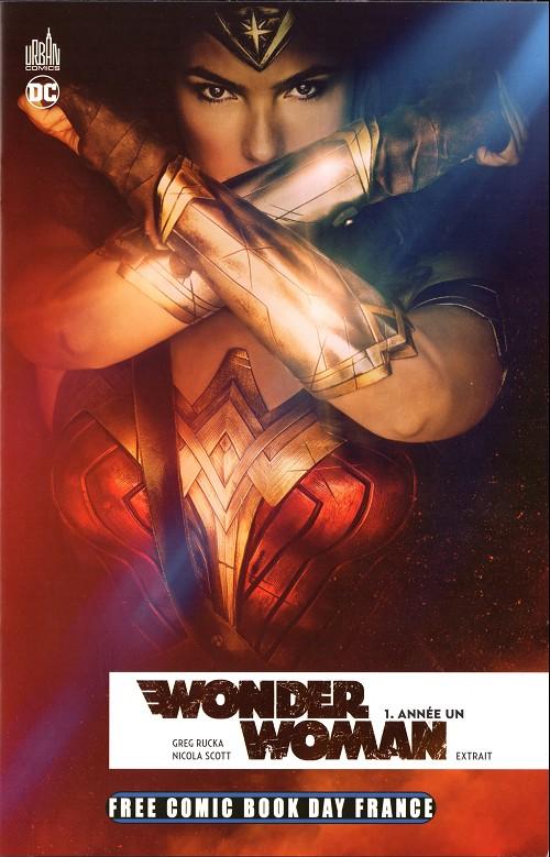 Couverture de Free Comic Book Day 2017 (France) - Wonder woman année un