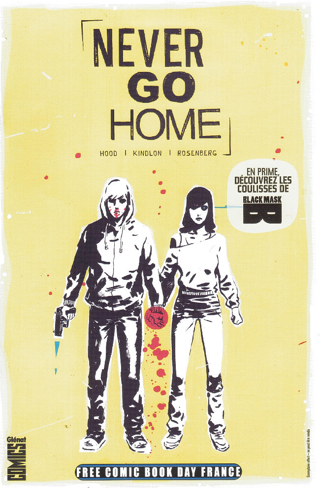 Couverture de Free Comic Book Day 2017 (France) - Never go home