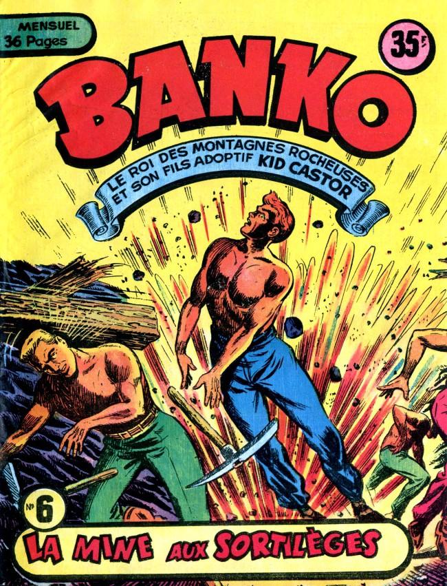 Couverture de Banko (1e Série - Remparts) -6- La mine aux sortilèges