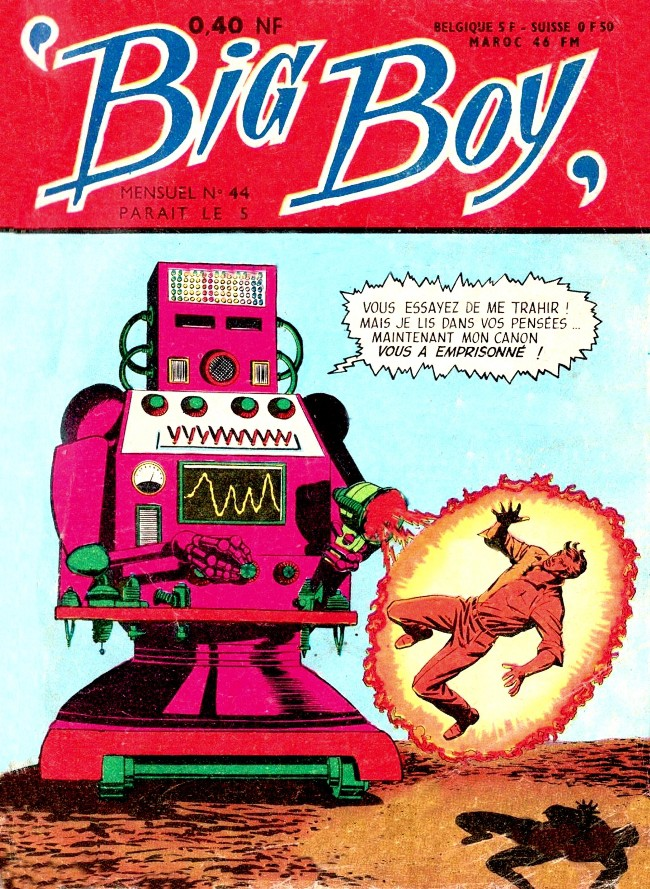Couverture de Big Boy -44- Captif du super-robot