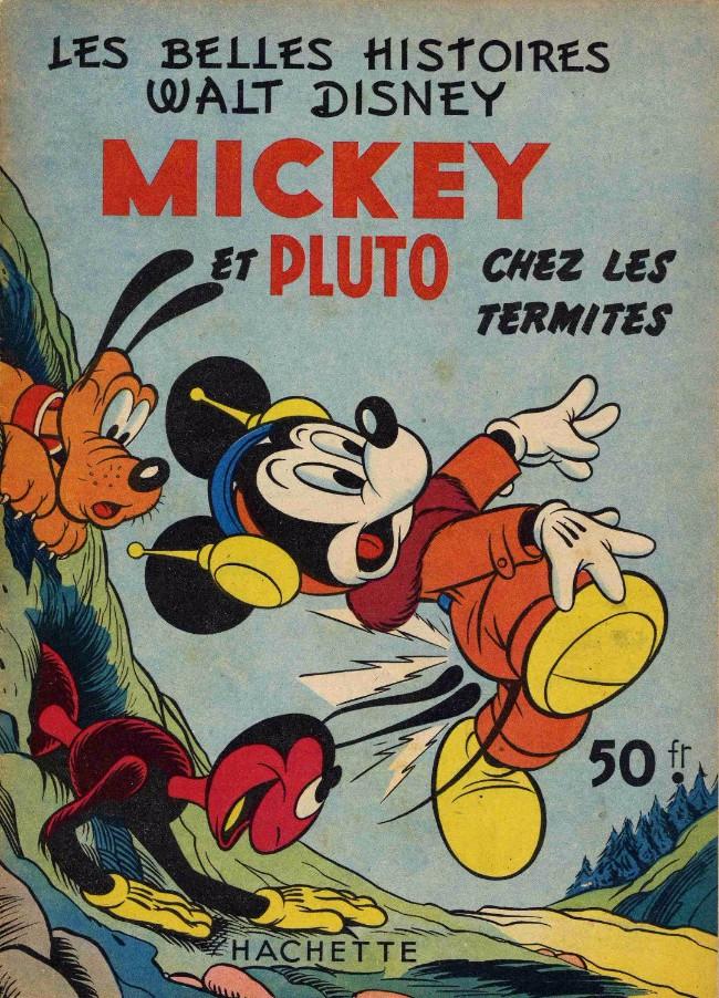 Couverture de Les belles histoires Walt Disney (1re Série) -27- Mickey et Pluto chez les termites