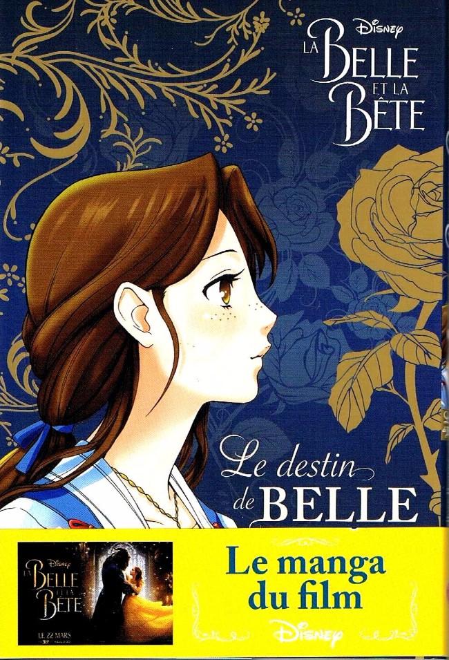 Couverture de La belle et la Bête (Disney manga) - Le destin de Belle
