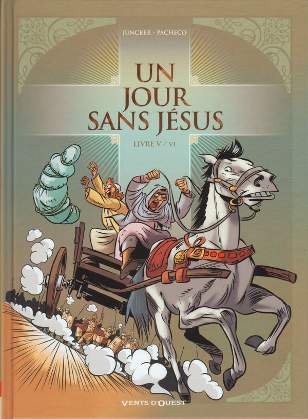 Couverture de Un jour sans Jésus -5- Livre V / VI