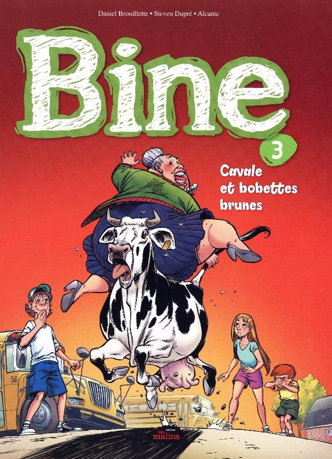 Couverture de Bine -3- Cavale et bobettes brunes
