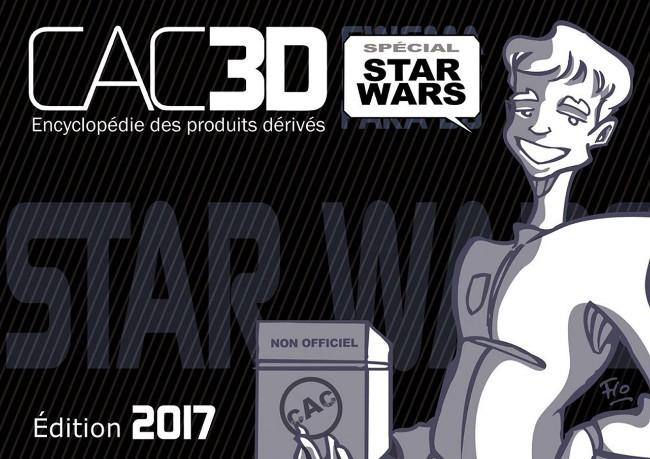 Couverture de cac3d -8- CAC3D - édition 2017 - Spécial Star Wars