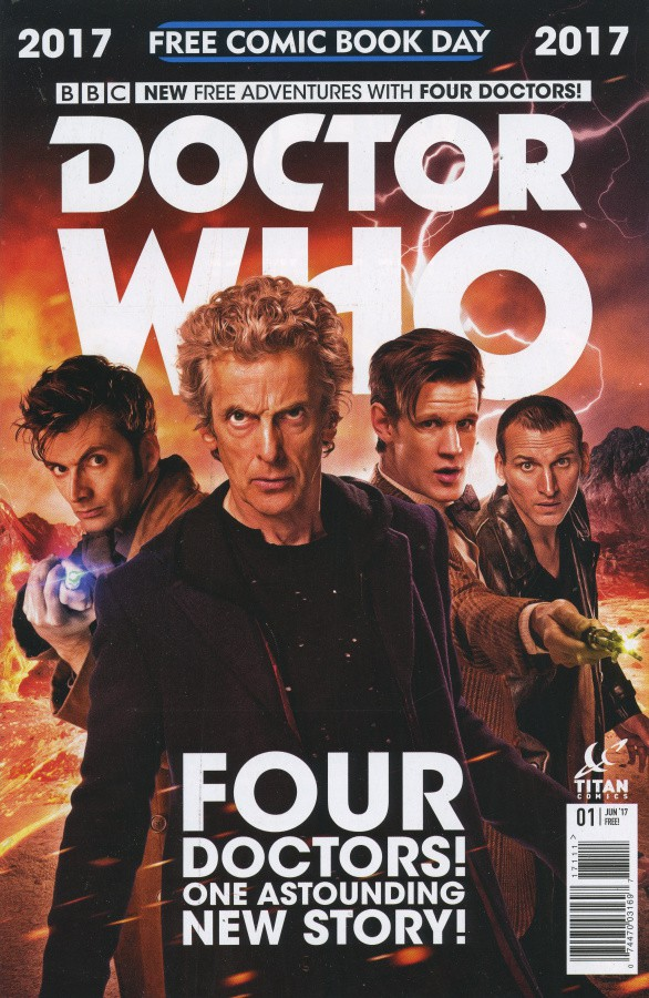Couverture de Free Comic Book Day 2017 - Doctor Who