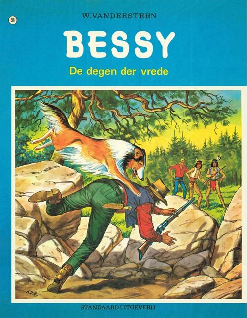 Couverture de Bessy (eerste reeks) (nl) -98- De degen der vrede