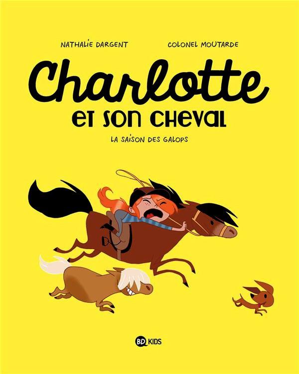 Couverture de Charlotte et son cheval -2- La saison des galops
