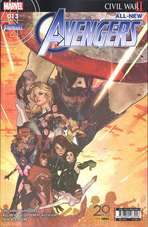Couverture de All-New Avengers -13- Fallait pas le faire