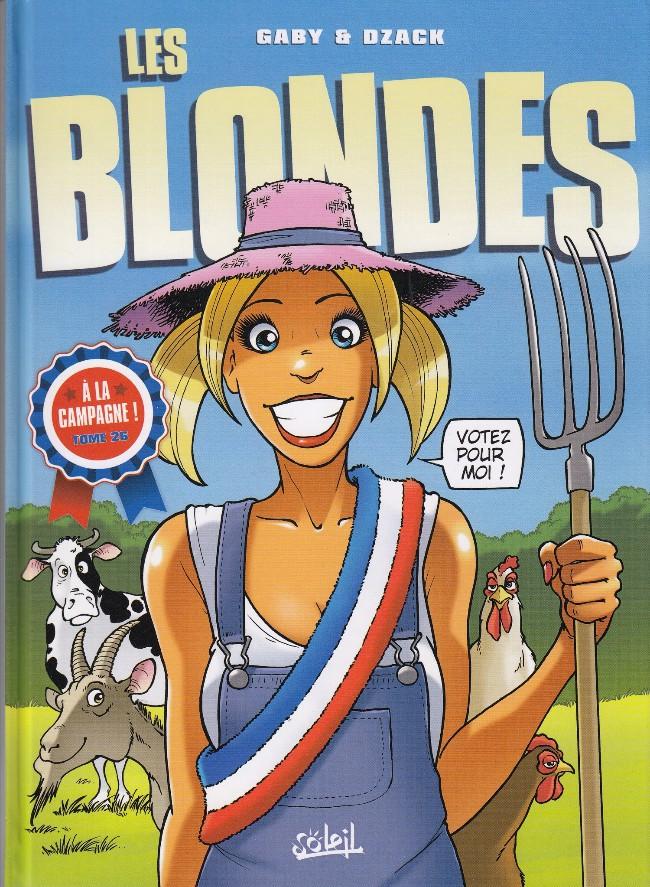 Couverture de Les blondes -26- À la campagne !