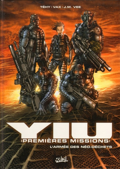 BD Yiu Premières missions 6T  french