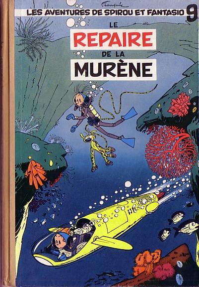 Couverture de Spirou et Fantasio -9- Le repaire de la murène