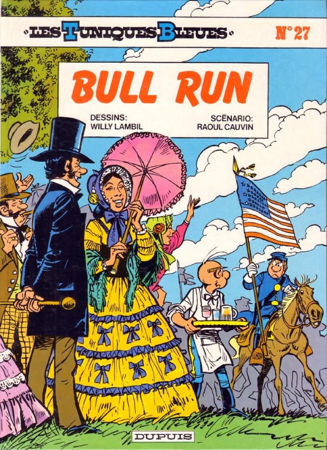 Couverture de Les tuniques Bleues -27- Bull Run