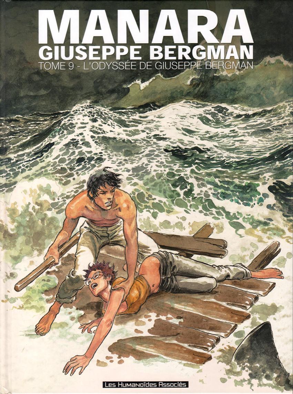 Couverture de Giuseppe Bergman (Humanoïdes Associés) -9- L'Odyssée de Giuseppe Bergman