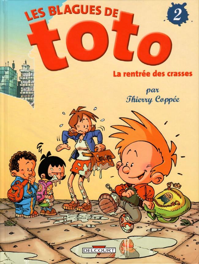 Couverture de Les blagues de Toto -2- La rentrée des crasses