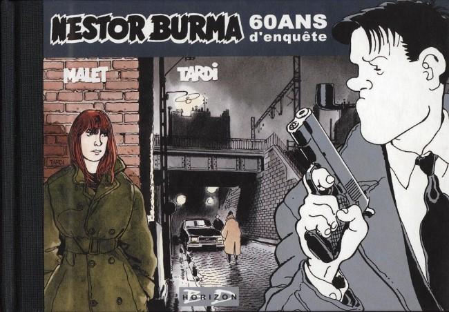 Couverture de Nestor Burma -HS05- Nestor Burma 60 ans d'enquête