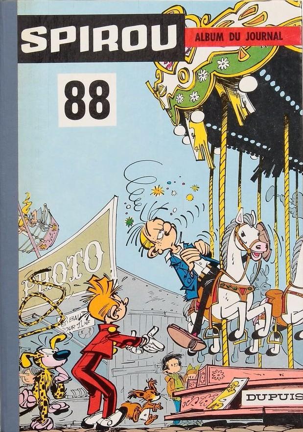 Couverture de (Recueil) Spirou (Album du journal) -88- Spirou album du journal
