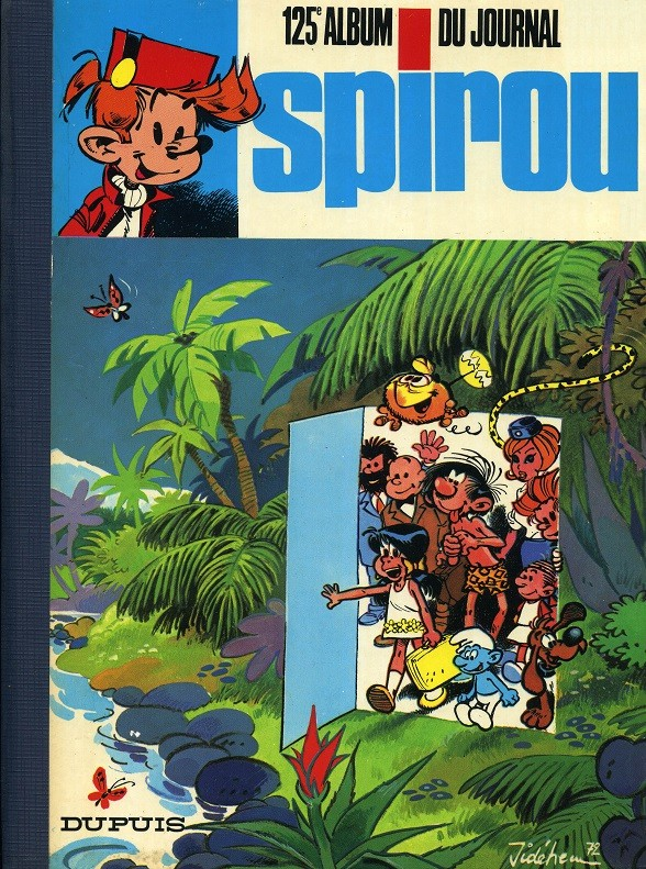 Couverture de (Recueil) Spirou (Album du journal) -125- Spirou album du journal