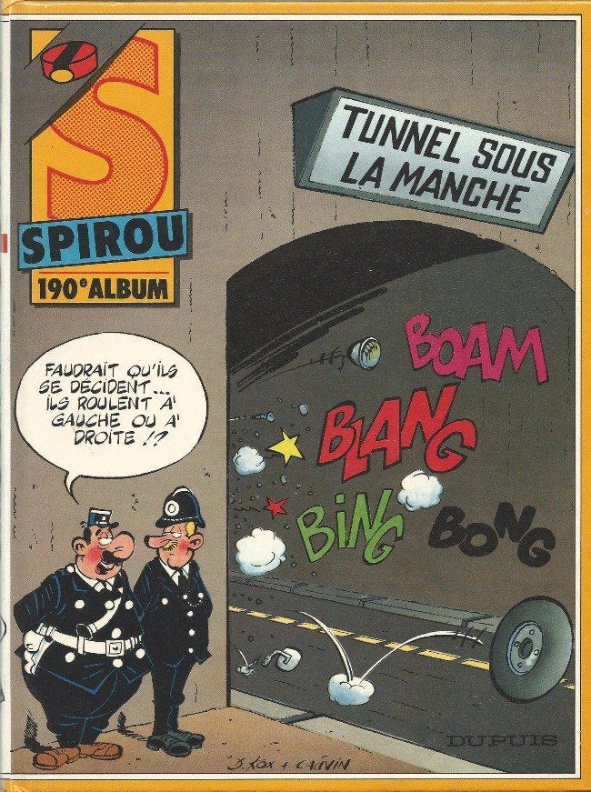 Couverture de (Recueil) Spirou (Album du journal) -190- Spirou album du journal