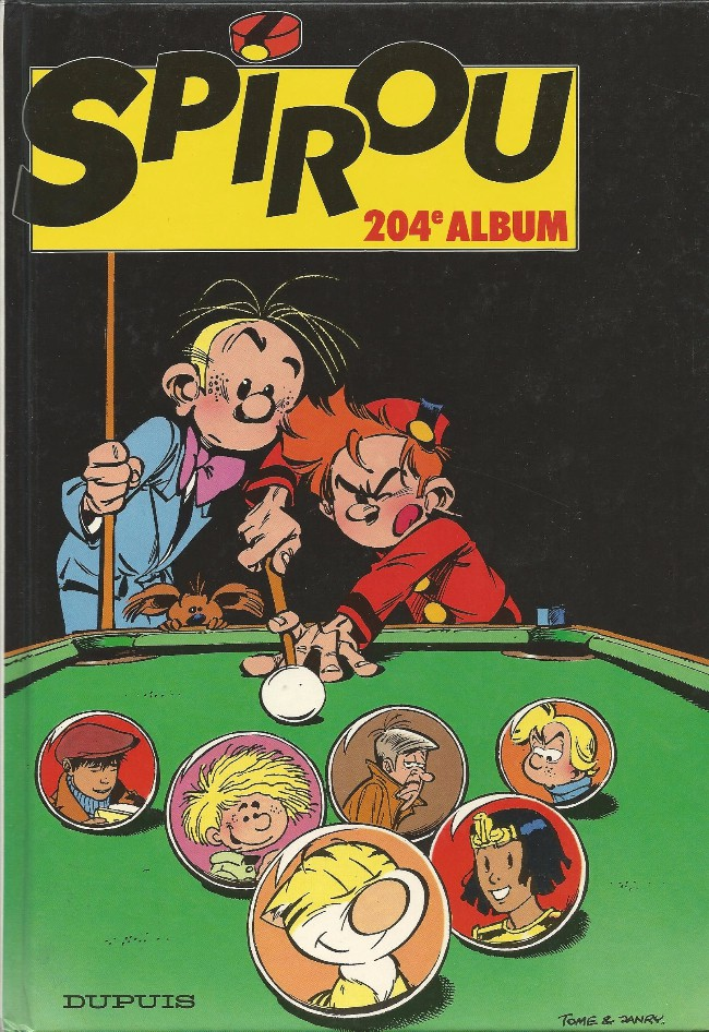Couverture de (Recueil) Spirou (Album du journal) -204- Spirou album du journal
