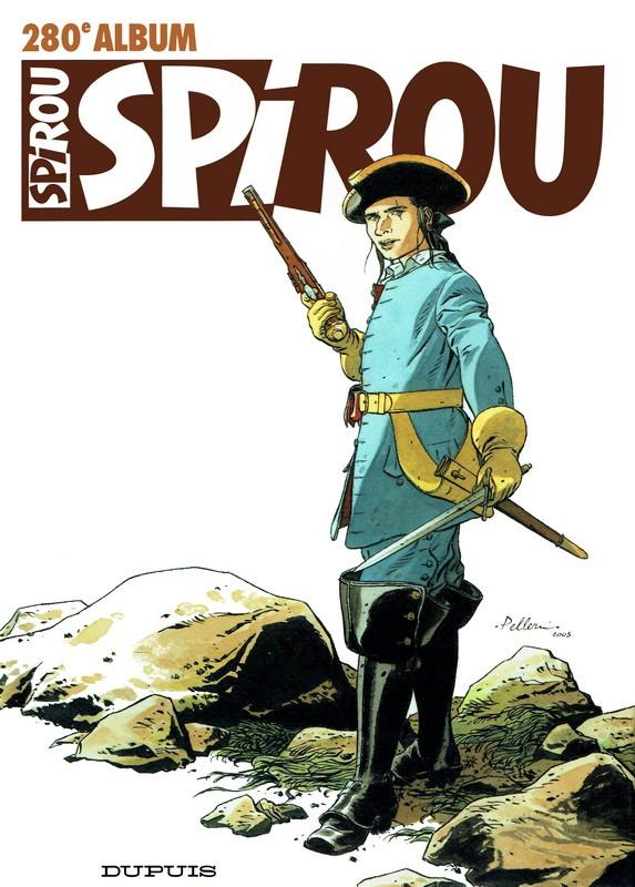 Couverture de (Recueil) Spirou (Album du journal) -280- Spirou album du journal