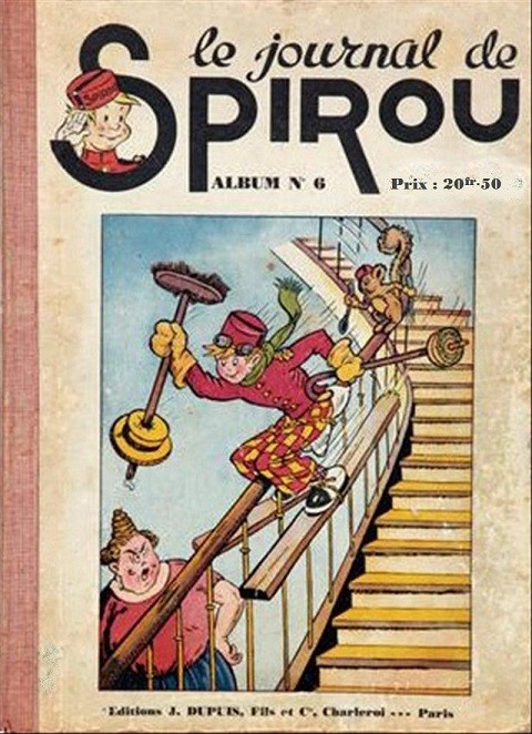 Couverture de (Recueil) Spirou (Album du journal) -6- Spirou album du journal