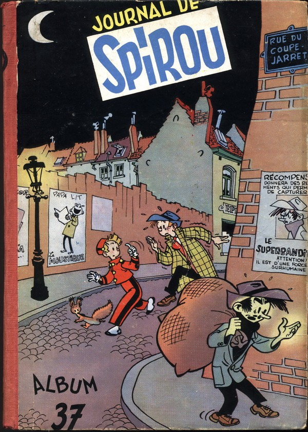 Couverture de (Recueil) Spirou (Album du journal) -37- Spirou album du journal