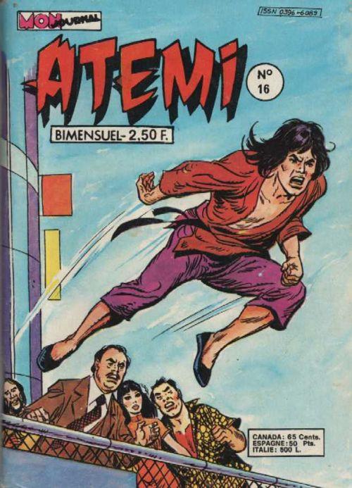 Couverture de Atémi -16- Le vieil esclave