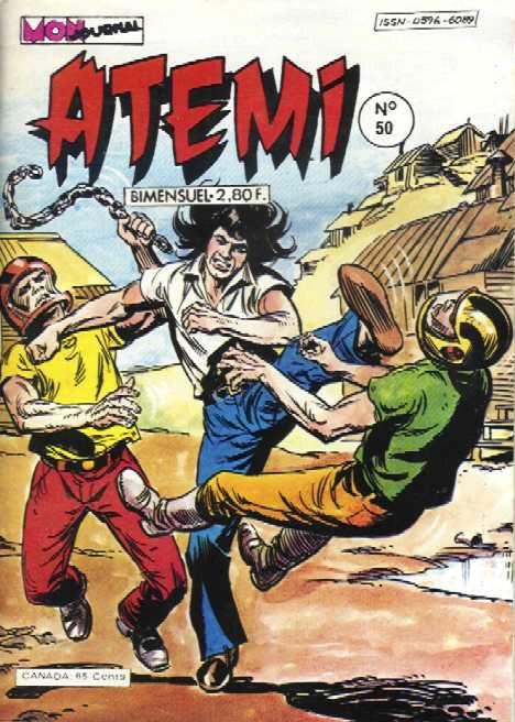 Couverture de Atémi -50- Ce n'est pas de la tarte !