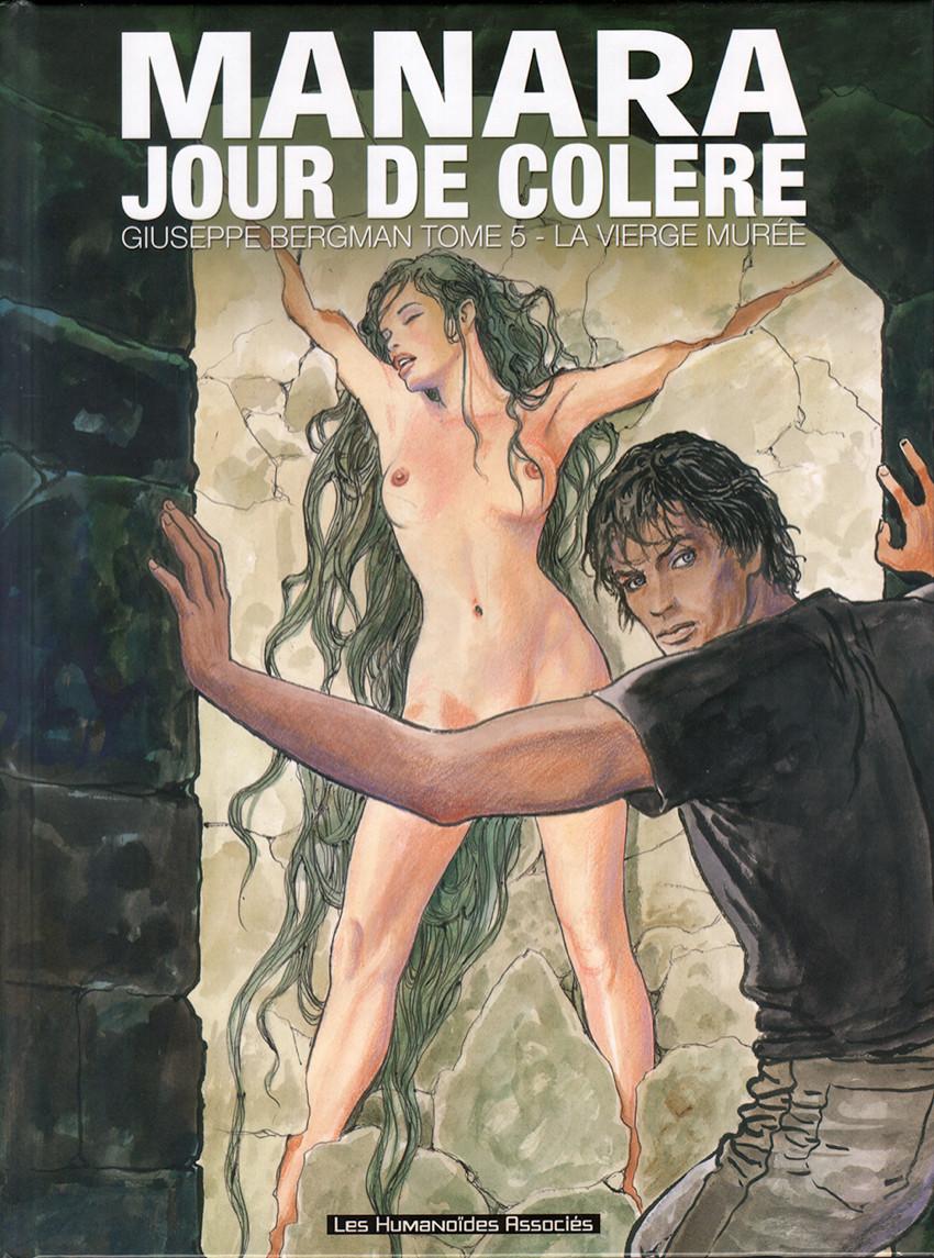 Couverture de Giuseppe Bergman (Humanoïdes Associés) -5- Jour de colère - La vierge murée