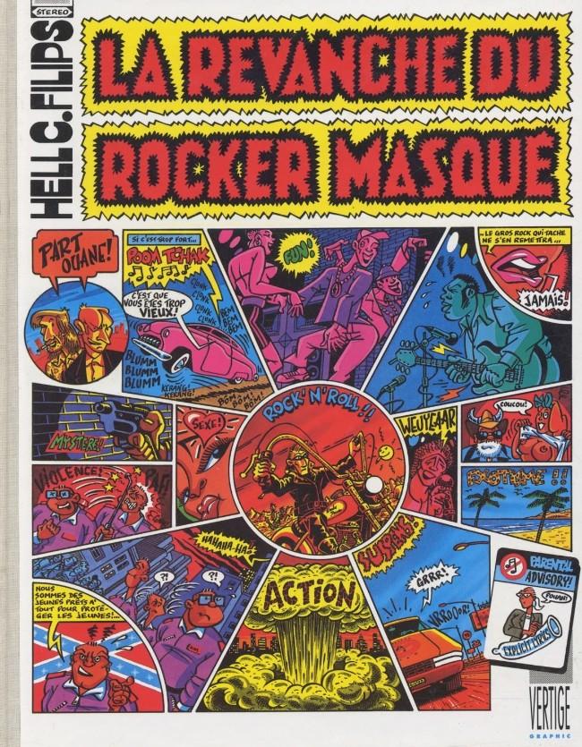 Couverture de La revanche du rocker masqué - La Revanche du Rocker Masqué