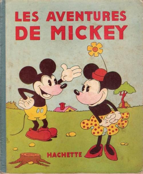 Couverture de Mickey (Hachette) -1- Les aventures de Mickey