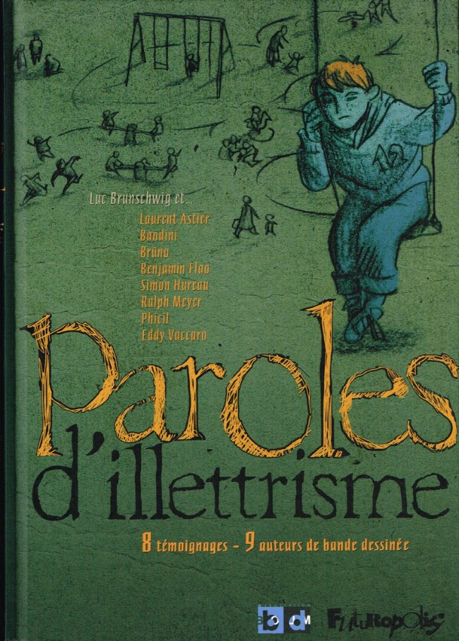 Couverture de Paroles de ... -6- Paroles d'illettrisme