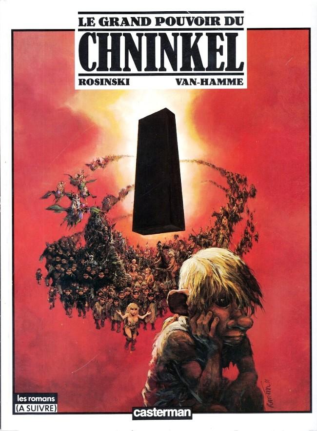Le Grand Pouvoir Du Chninkel Tome 01