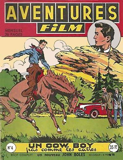 Couverture de Aventures Film (1re série - Artima) -4- Un cow-boy pas comme les autres