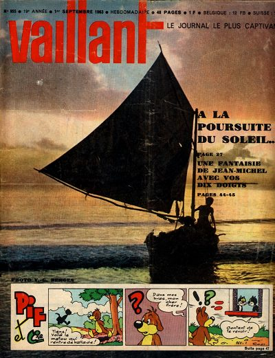 Couverture de Vaillant (le journal le plus captivant) -955- Vaillant