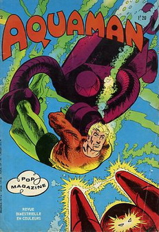 Couverture de Aquaman (Pop magazine) -2- Un étrange rendez-vous