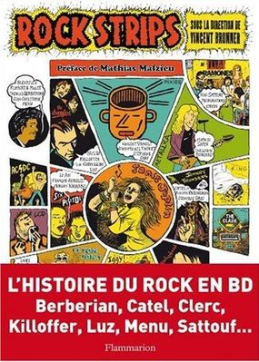 Couverture de Rock strips