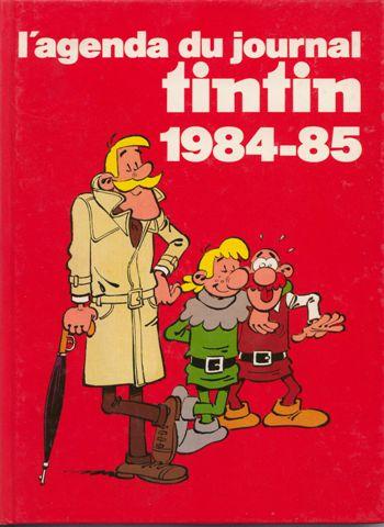 Couverture de (DOC) Journal Tintin -4- L'Agenda du journal Tintin 1984-85