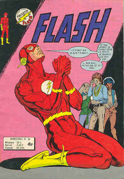 Couverture de Flash (Arédit - Pop Magazine/Cosmos/Flash) -36- Flash 36